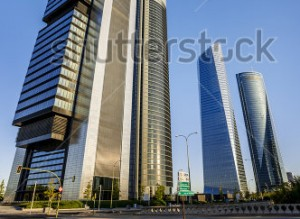 stock-photo-four-modern-skyscrapers-cuatro-torres-madrid-spain-166942427